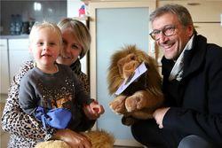 Lions-Präsident Pfarrer Christof Seisser besuchte Pia