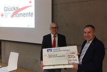 Spende von 4000 euro an die DRK Balingen