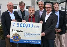 Spende Lionsclub Balingen 2015