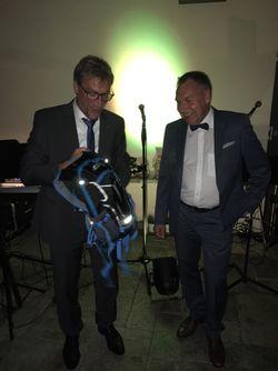 Joachim Calmbach übergibt an Christof Seisser